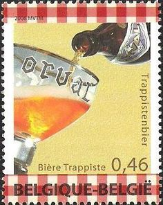 Sello: This is Belgium 4th Issue - Trappist beer (Bélgica) (This is Belgium) Mi:BE 3628,Bel:BE 3581