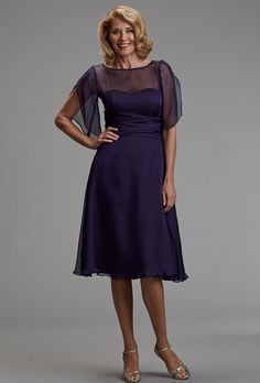 Brides: Siri. Sheer and fun sleeves gives whimsy to this classic dress. Made in USA.