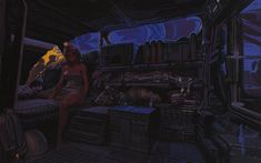 "Syd Mead, Blade Runner ""Sebastiens Van Interior"" (Hethatis Madzo, 2011)"
