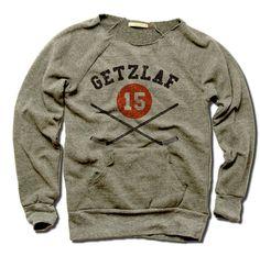 Ryan Getzlaf Officially Licensed NHLPA Anaheim Women's MANIAC Sweatshirt S-XL Getzlaf Sticks K