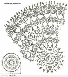 Yandex.Disk Filet Crochet, Art Au Crochet, Mandala Au Crochet, Thread Crochet, Free Crochet Doily Patterns, Crochet Doily Diagram, Crochet Circles, Crochet Motif, Dream Catcher Crochet Pattern