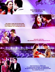 Chuck and Blair Quotes