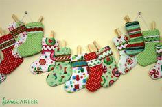 xmas stocking advent calendar