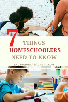 Are you homeschooling this year, or know someone who is? Here are 7 things that homeschooling parents need to know whether you are brand new to this journey or several years down the road!