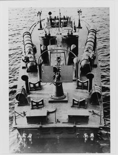 """""""HMS MTB-263 (British Motor Torpedo Boat, 1940, ex-USS PT-14) Ready for delivery to The Royal Navy, circa Mid-1941. She has been modified to British specifications, with R.N. Type 21"""" Torpedo Tubes, a 20mm machine cannon and other changes."""""""