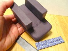 Perfect polymer clay cane slices, DIY