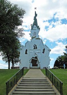 Not a house, but .... deconstructed Church by Michael Jantzen, Architect - wonderful