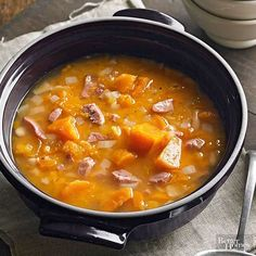 소시지&고구마 수프