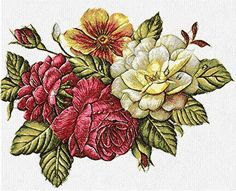 Flower photo stitch free embroidery design 44 - Photo stitch embroidery designs - Machine embroidery community
