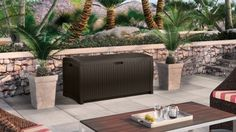 99 gallon resin wicker deck box   suncast® corporation Suncast Wicker Deck Box Suncast Wicker Deck Box 2016