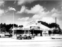 One of the original Hale Groves roadside stands circa 1950's. #tbt #florida #US1