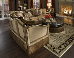 Grace Traditional 3pc Conversational Sectional Sofa By Rachlin Classics |  Best Sectional Sofa Ideas