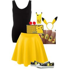 """Pikachu"" by hansa-12 on Polyvore"
