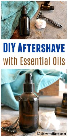 DIY Aftershave with