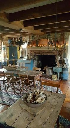 primitive dining rooms primitive kitchen primitive decor primitive country fall fireplace decor rustic fireplaces tiny house interiors