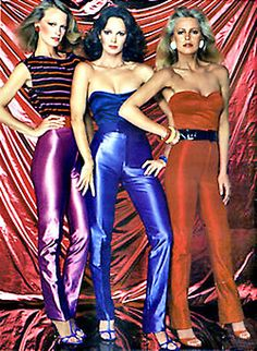Season 4 - Tiffany Welles (Shelley Hack), Kelly Garrett (Jaclyn Smith) and Kris Munroe (Cheryl Ladd) – Charlie's Angels (1976-81)