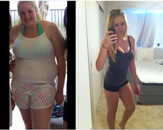 75 pounds -- How she lost 12 dress sizes in 5 months.