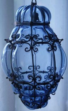 @PinFantasy - blue lantern ~~ For more:  - ✯ http://www.pinterest.com/PinFantasy/color-~-azul-blue/