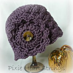 Sadie Sunshine - Crochet for Cancer hat... Please consider donating to someone going through chemo...