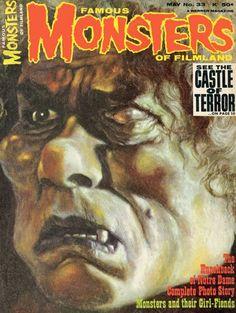 Monster Magazine Galleries: Famous Monsters of Filmland 1