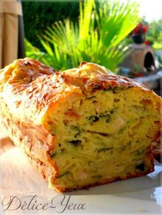 Leek Cake, Chicken and Curry Quiches, Quick Recipes, Cooking Recipes, Tapas, Salty Foods, Savory Tart, Salty Cake, Finger Food Appetizers, Appetizers