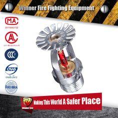 Market popular 68 Celsius Degree Pendent Glass Bulb Fire Sprinkler for fire sprinkler pipe