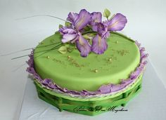 торт с ирисами - Поиск в Google