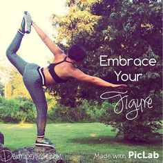 Learn how to love the person you are and Embrace Your Figure  #fitnessmotivation Deidrapenrose.com
