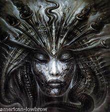 HR Giger Art Poster Print Trumpets of Jericho Biomechanical Baphomet Alien