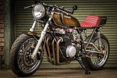 'Gold Dusk' Kawasaki KZ650 – Little Horse Cycles