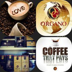 I Love my Organo Gold Coffee!!