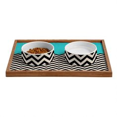 Bianca Green Follow The Sky Pet Bowl and Tray from DENY Designs