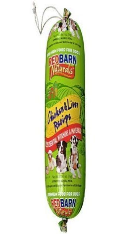 Redbarn Pet Products Chicken and Liver Food Roll, Net Weight 2 lbs All-Natural Digestible Ideal as a full meal or as a supplement to your pet's current diet Wet Dog Food, Cat Food, Online Pet Supplies, Dog Supplies, Premium Dog Food, Natural Protein, Pet Supply Stores, Fresh Meat, Chicken Livers