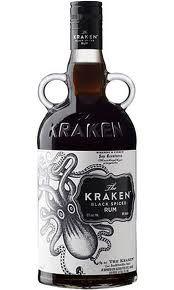 Kraken, Dark Rum, Cute Monster