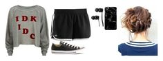 """Sin título #838"" by hurt-girl ❤ liked on Polyvore featuring Wildfox, Under Armour, Converse and Vans"