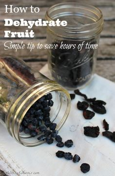 Learn how to dehydrate fruit at home to save money and build up your food storage. This simple tip will cut hours off your dehydrating time. Grab this now to preserve the summer berry and fruit harvest.