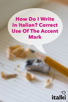 How to write accent marks over your letters?