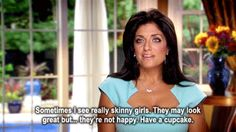 Housewives of NJ.  Love her!