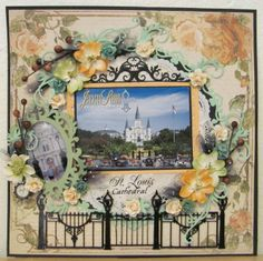 Layout: St. Louis Cathedral-Jackson Square-New Orleans