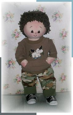 One of the many boy dolls that have just been added to Karens Kids.. This guy can be found on http://karenskids.homestead.com/boydolls.html