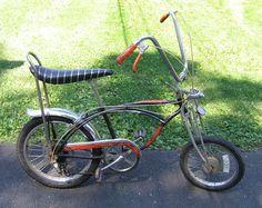 Vintage Schwinn fastback stingray Krate Bike Style Orange Handle bar Tape NOS