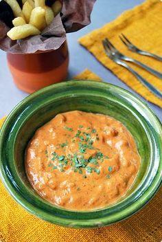 Salsa Andalouse 200 Gramos De Mayonesa 2 Cucharadas De Doble Concentrado De Tomates O 4 De Pasta De Tomate 2 Cucha Mexican Food Recipes Food Food Inspiration
