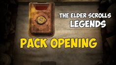 TES Legends   открытие бустеров ( pack opening)