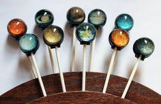 Space lollipops | Viralias