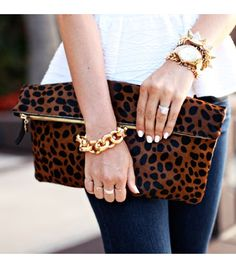 Clare Vivier bag, Torn by Ronny Kobo shirt, Kate Spade watch, J.Crew bracelet.