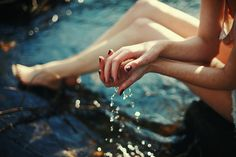 of water and touch | Flickr