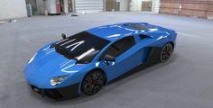 ArtStation - Editing Lamborghini Aventador LP700-4