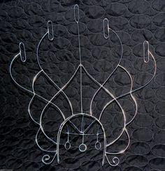 Samba Custom Headdress Wire Frame Design with 5 Fire Hooks Custom New | eBay