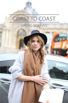spring scarves: east coast