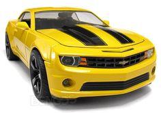 Diecast Cars :: Chevrolet :: Camaro :: 2010 Chevy Camaro SS ''BUMBLEBEE-ish'' 1:24 Scale - Jada Diecast Model (Yellow/Black) -